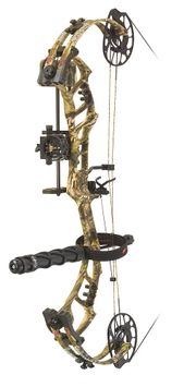 PSE Bow Madness Unleashed RTS Compound Bow Package Mossy Oak Country