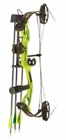 PSE Mini Burner RTS Compound Bow Package Lime Green