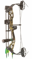 PSE Mini Burner RTS Compound Bow Package Mossy Oak Country