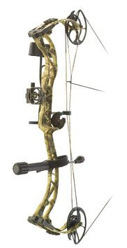 PSE Ramped RTS Compound Bow Package Mossy Oak Country