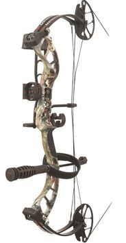 PSE Uprising RTS Compound Bow Package Mossy Oak Country