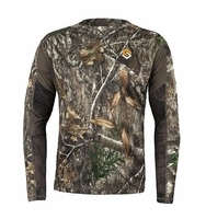Scentlok Baselayer AMP Lightweight Top Realtree Edge Camo