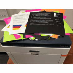 For use in Xerox dedicated Glossy Refillable White Toner - Restaurants Menu , Professional , Christmas Cards, Realtor, Hobby, T-shirts and more