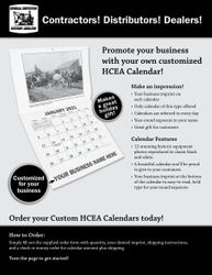 2021 HCEA Calendar with Custom Imprint