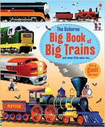 #2608 The Usborne Big Books of Big Trains