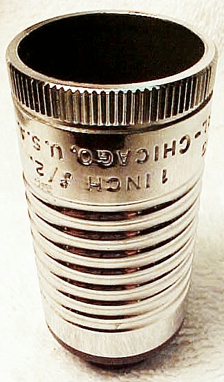 """1"""" f2.0 (16mm coated) Simpson Optical Lens Chicago (No 6)"""