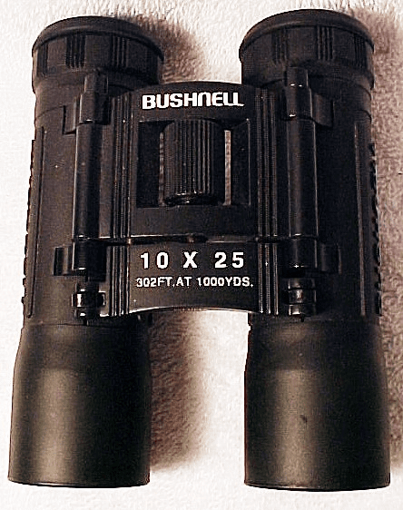 10 x25 Bushnell Rubber Armored Ultra Compact Binoculars