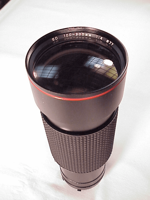 100-300mm f4.0 Tokina ATX for Minolta MD