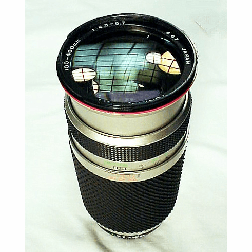 100-400mm f4.5-6.7 Tokina AF Lens for Nikon