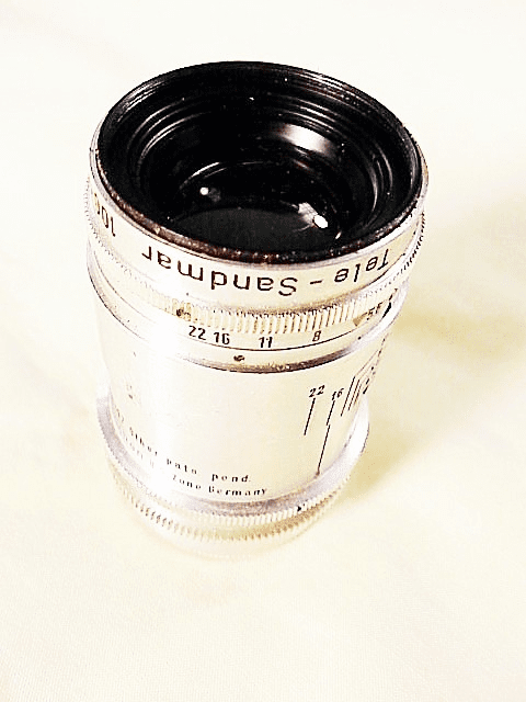 100mm f4.5 Sandmar Telephot for Argus C3