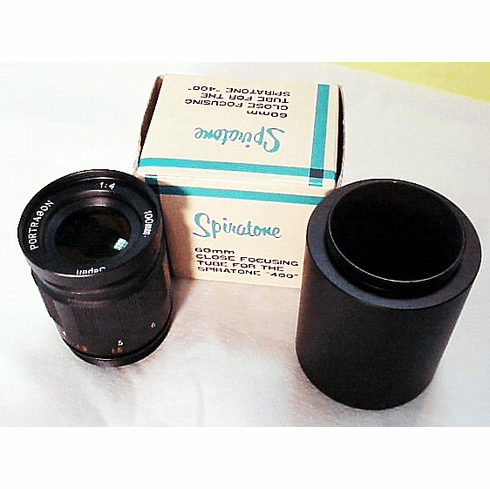 100mm f4 Portagon for T Mount with Macro Tube by Spiratone