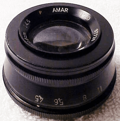 105mm f4.5 AMAR Enlarging lens