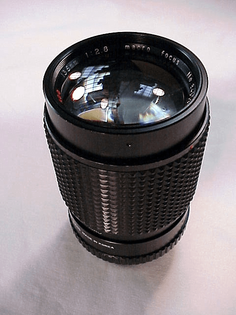 135mm f2.8 Albinar Lens for Minolta MD
