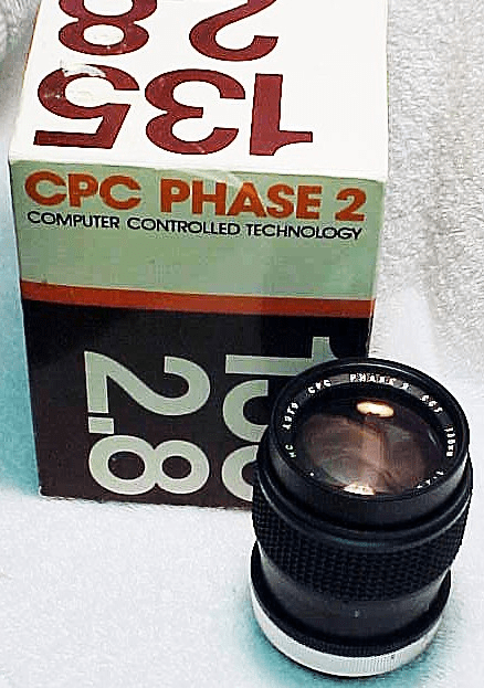 135mm f2.8 CPC Phase 2 Lens for Canon FD Mount (New)