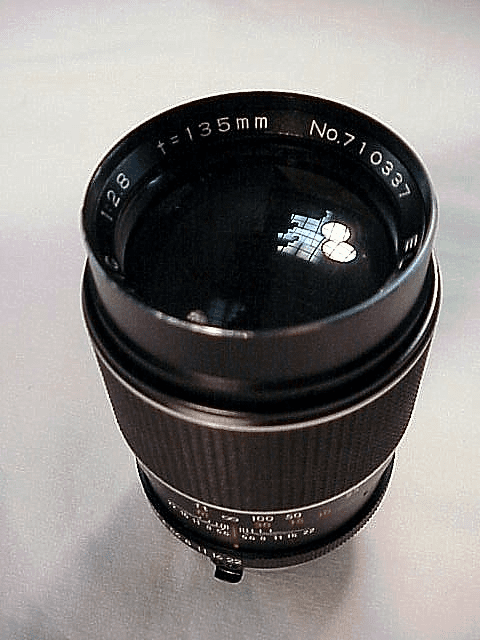 135mm f2.8 Elicar for Minolta MD