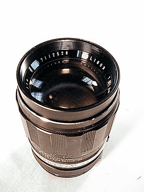 135mm f2.8 Tele-Auto Soligar Lens for Miranda with an Arm