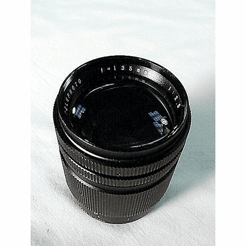 135mm f2/8 Vivitar Lens T Mount (fits any camera)