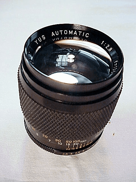 135mm f2.8 YUS Automatic Lens for Yashica Cameras