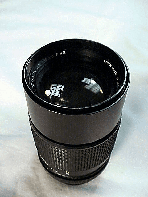 135mm f3.2 Haxanon for Konica