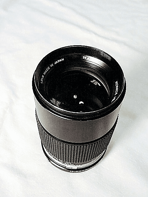 135mm f3.2 Hexanon for Konica