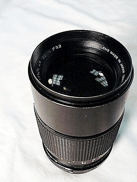 135mm f3.2 Hexanon Lens for Konica