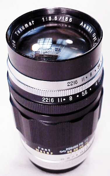 135mm f3.5 early Preset Takumar (for H series cameras)