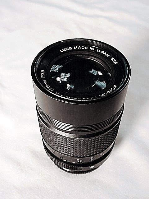 135mm f3.5 Hexanon for Konica