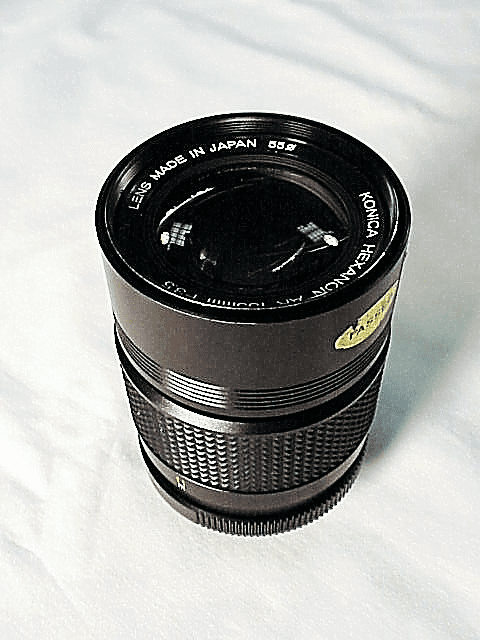 135mm f3.5 Hexanon Lens for Konica