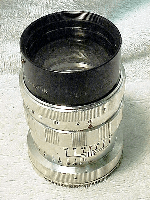 135mm f3.5 Tele-Lithagon for Argus C4 (N05)
