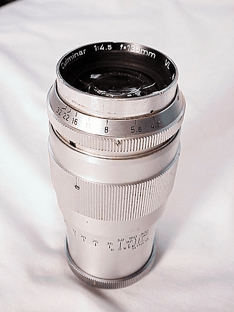 135mm f4.5 Culminar for Pentacon Screw Mount