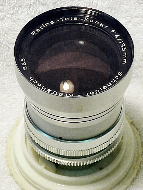 135mm f4 Tele-Xenar for Retina Reflex