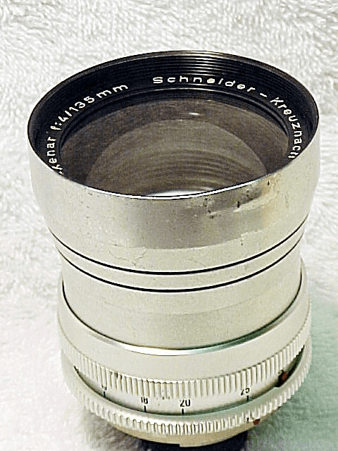 135mm f4 Tele-Xenar for Retina Reflex Cameras