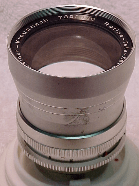 "135mm f4 Tele-Xenar ""S"" Type Lens for Retina Reflex"
