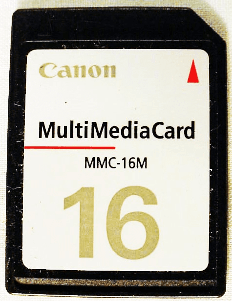 16 MB Canon Multimedia Card