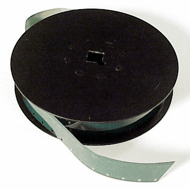 16mm Spool with used test film