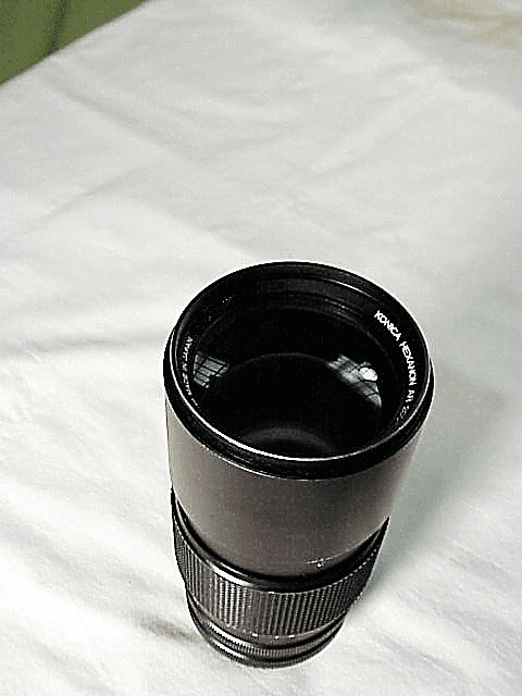 200mm f3.5 Hexanon Lens for Konica