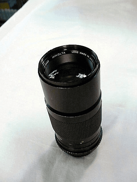 200mm f4.5 Minolta Celtic Lens