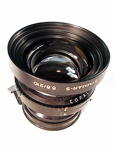 210mm f5.6 Multicoated Symmar-S in Copal No 1