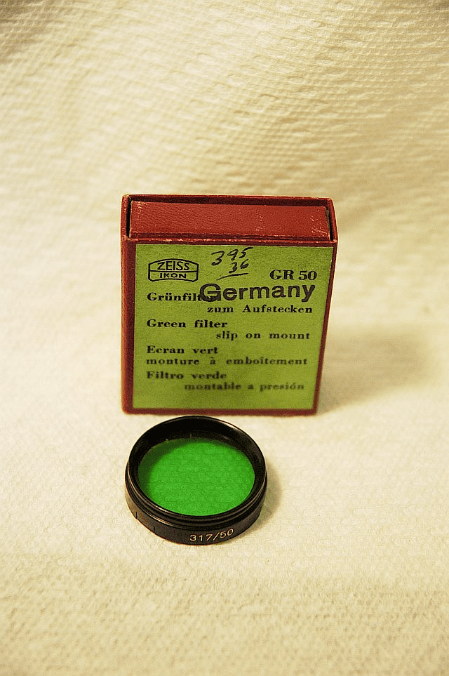 28.5mm Slip on Zeiss Filters Various Types.