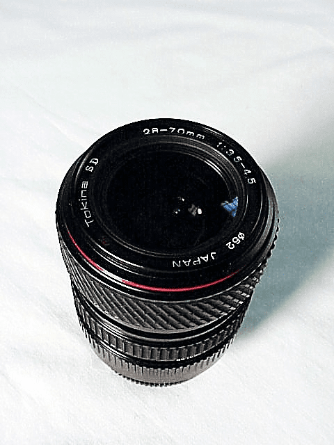 28-70mm f3.5-4.5 Tokina SD Brand Lens for Konica Cameras