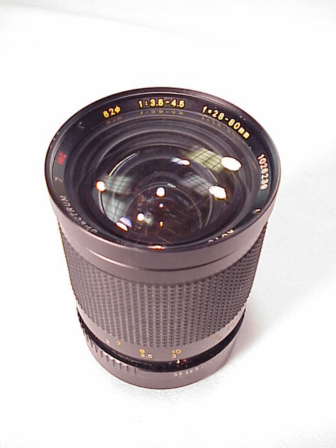 28-80mm f3.5-4.5 Promaster for Konica