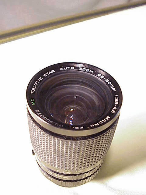 28-80mm f3.5-4.5 Tou/Five Star Lens for Pentax K