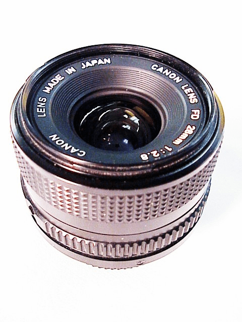 28mm f2.8 Canon FD Lens (New Style Mount)
