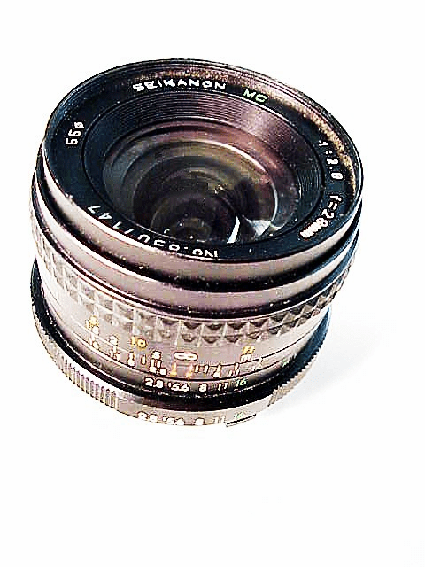 28mm f2.8 Seikanon for Minolta MD
