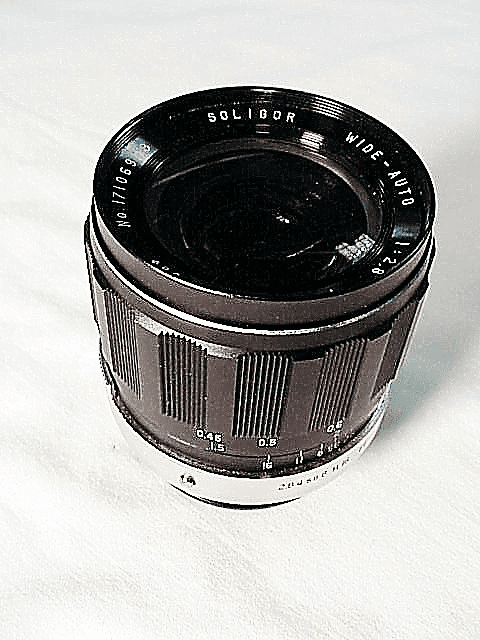 28mm f2.8 Soligar Brand Lens for Konica
