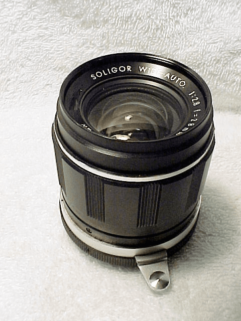 28mm f2.8 Soligar Lens with Arm for Miranda