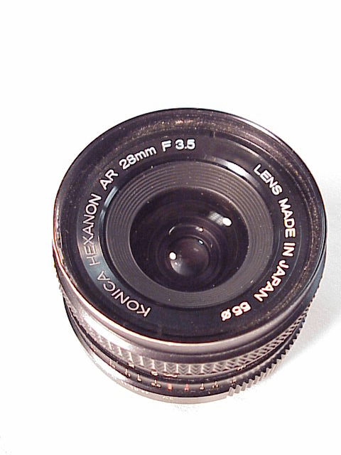 28mm f3.5 Hexanon for Konica