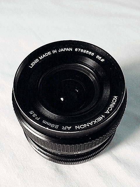 28mm f3.5 Hexanon for Konica Cameras