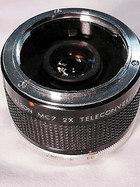 2X Kiron MC7 Teleconverter for Konica Cameras