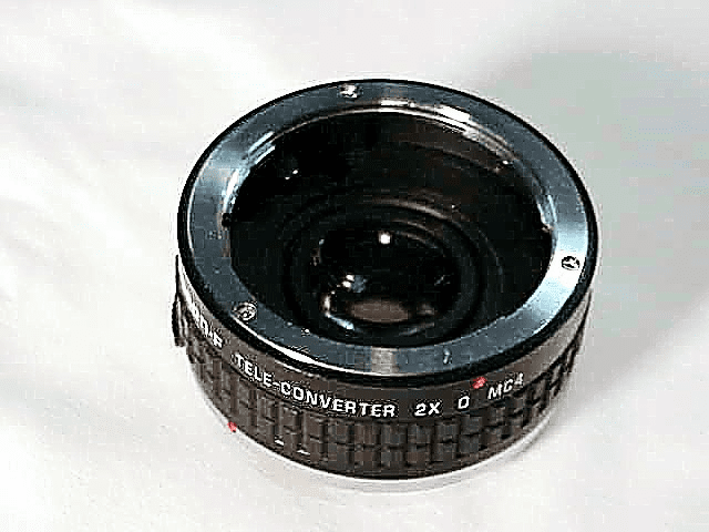 2X Tamron F Doubler for Olympus Cameras